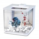MARINA Betta EZ-Care 2,5L Aquarium Blanc pour combattant